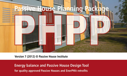 Aecb passive house planning package phpp 2013 version and sketchup design plugin designph for Home building package