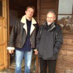 Marek Simoncic of Velox and AECB member, Ken Askew of KSQ Building Services