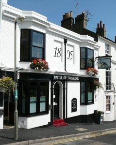 The Battle of Trafalgar, 34 Guildford Road, Brighton BN1 3LW