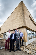 Work Completes on the UK's Greenest Commercial Building: Adapt Low Carbon Group