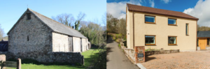Two EnerPHit houses