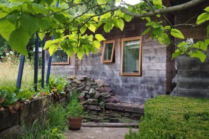 the cob house