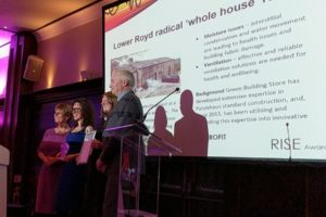green building store collecting award