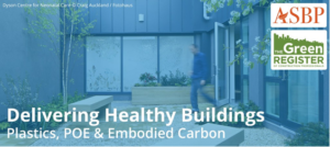 Delivering Healthy Buildings: Plastics, POE and Embodied Carbon